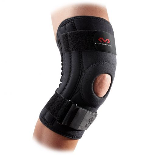 Mc David Patella knee support - Zwart