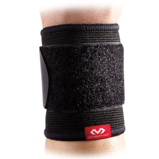 Mc David 2 Way Elastic Wrist Sleeve - Zwart