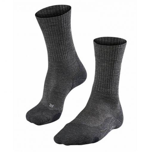 Falke heren sokken TK2 Wool - Antraciet