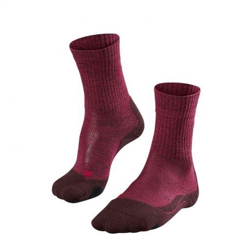 Falke dames sokken TK 2 Wool  - rood
