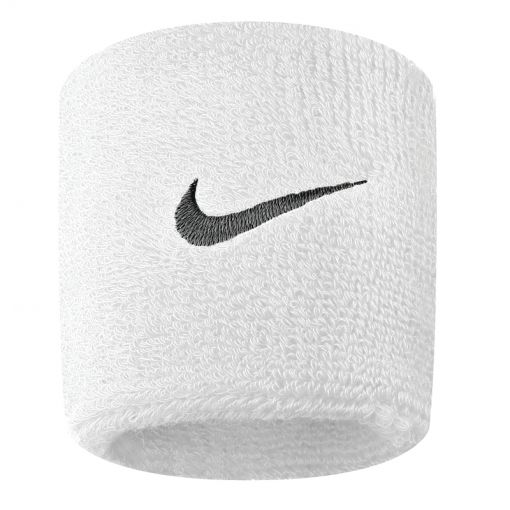 Nike Swoosh Wristband - Wit