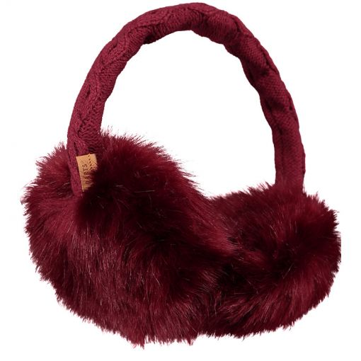 Barts oorwarmers Fur Earmuffs - 0402 Cherry