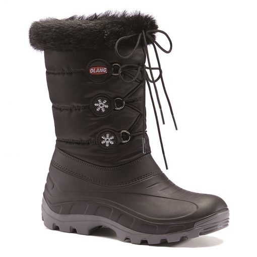Olang dames moonboots Patty - Antraciet