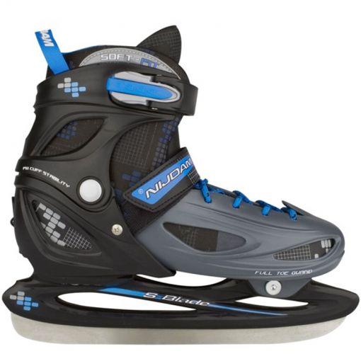 IJshockeyschaats Verstelbaar - Zwart