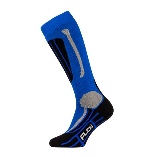Falcon junior ski sok Max - blauw