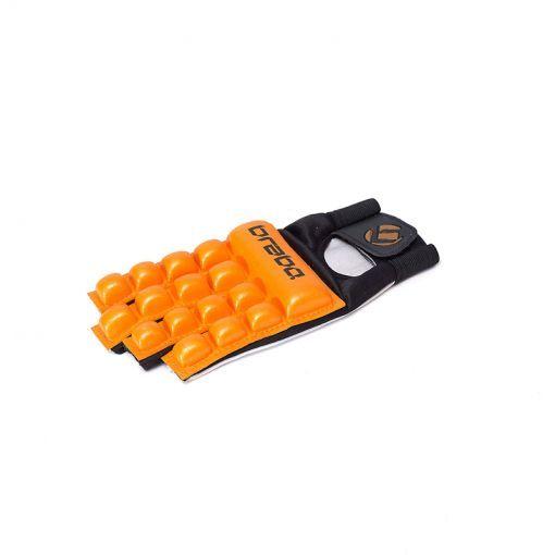Brabo BP1050 hockey handschoen zonder duim F4 - Oranje