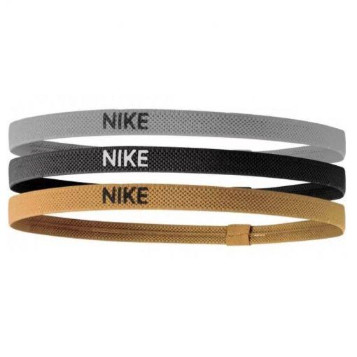 Nike haarbanden - Grijs/Geel/Zwart