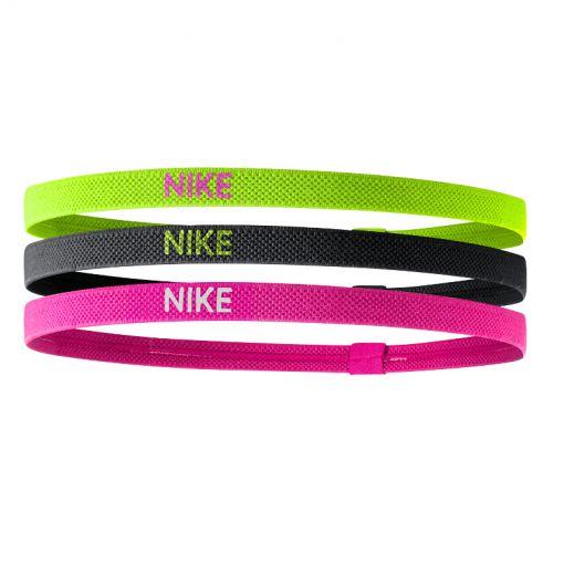 Nike haarbanden - Geel/Zwart/Roze