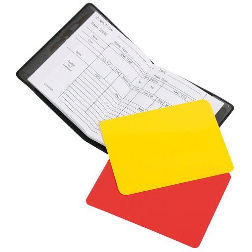 Hummel scheidsrechter kaartenset - Zwart