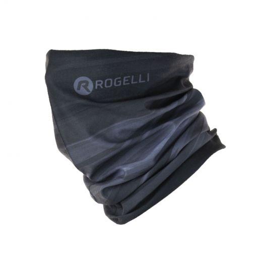 Rogelli fiets sjaal - 20 Zwart/Grijs