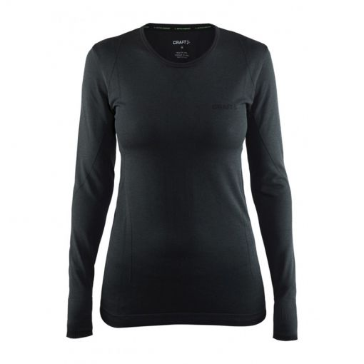 Craft Active Comfort dames thermoshirt - Zwart