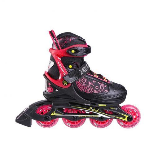 Stuf junior inline skate Xoom 2 - Zwart