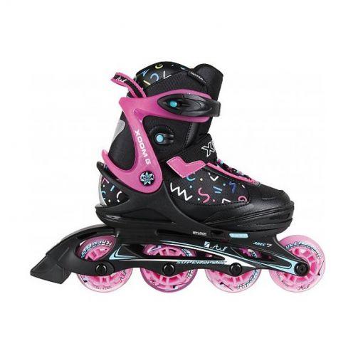 Stuf junior inline skate Xoom 2 - 9225 Black Pink