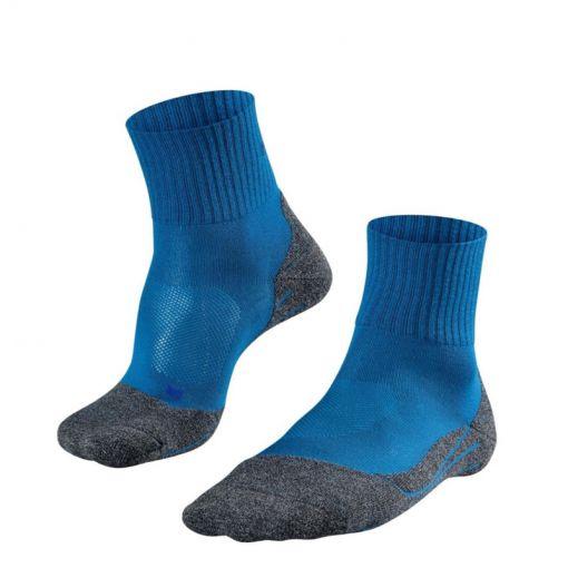 Falke heren sokken TK2 Short Cool - 6416 galaxy Blue