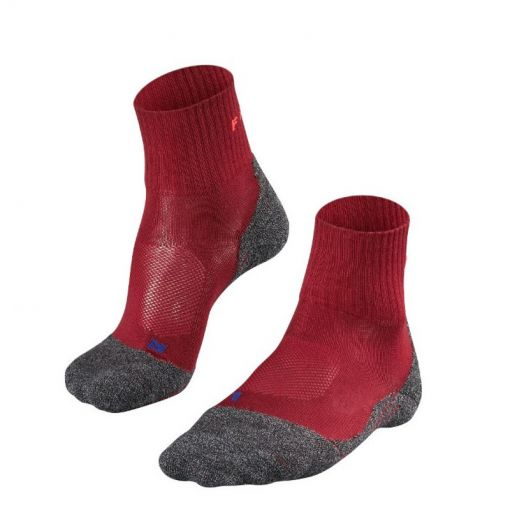 Falke TK2 Short Cool dames sokken - rood