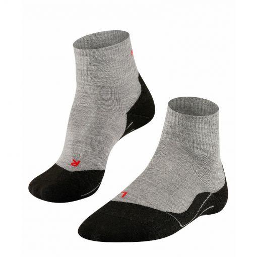 Falke heren sokken TK5 Short - 3403 Light Grey