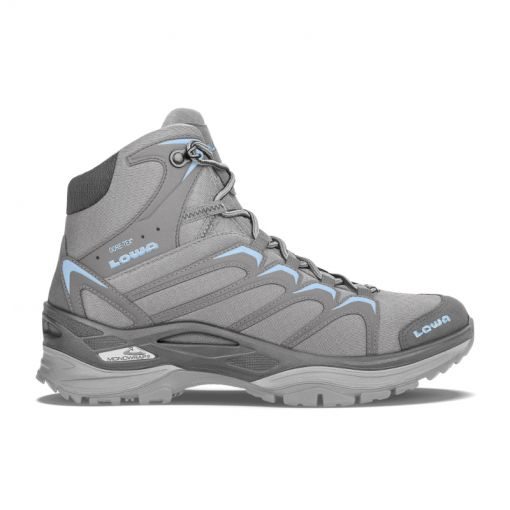 Lowa Innox Gore-Tex Mid dames wandelschoen - 9070 Grey/ light blue