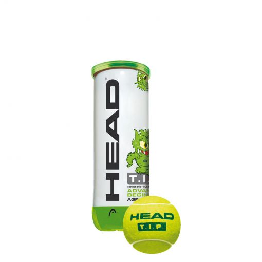 Head tennisballen 3B Head Tip - Groen