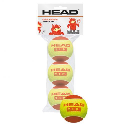 Head tennisballen 3B Head Tip - Rood