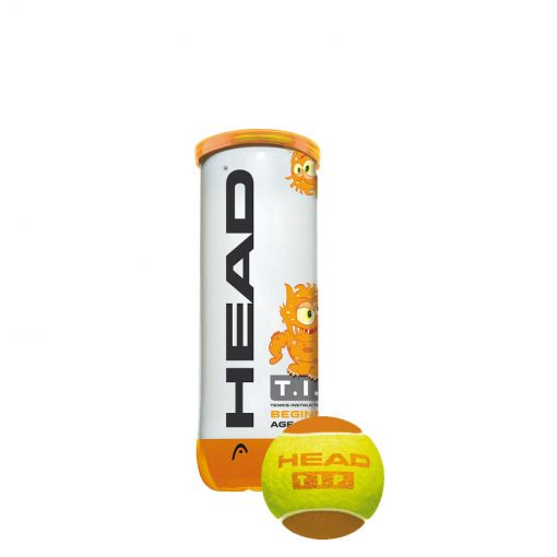 Head tennisballen 3B Head Tip - Oranje