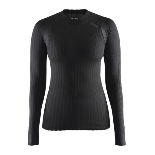 Craft Active Extreme 2.0 dames thermoshirt - Antraciet