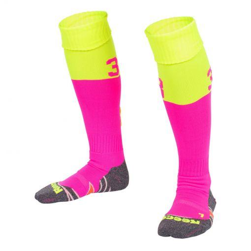 Reece hockey kous Numbaa Sock - Roze