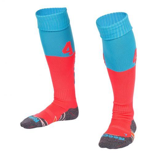 Reece hockey kous Numbaa Sock - Roze/Blauw