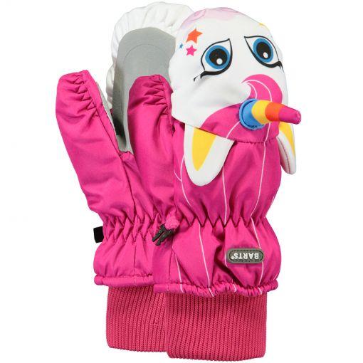 Barts kinder wanten Nylon Mitts 3D - Roze