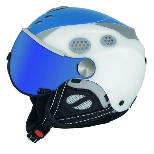 Mango Cayman Jr Blue skihelm - Wit