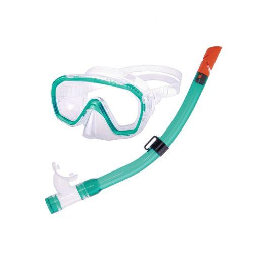 Combo Dolphino Junior duikbril en snorkel - Groen