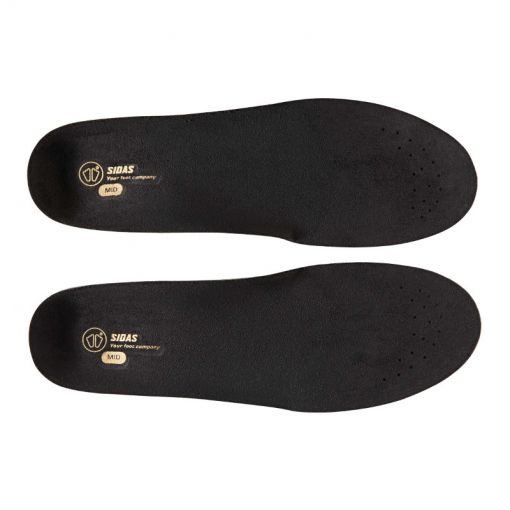 Sidas 3 Feet Slim Mid Neutral - Zwart