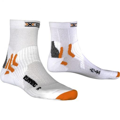 X-Socks runningsokken kort - Wit