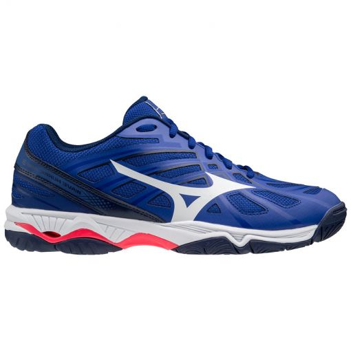 Mizuno Wave Hurricane heren indoorschoen - 20 Reflexblue/Wht