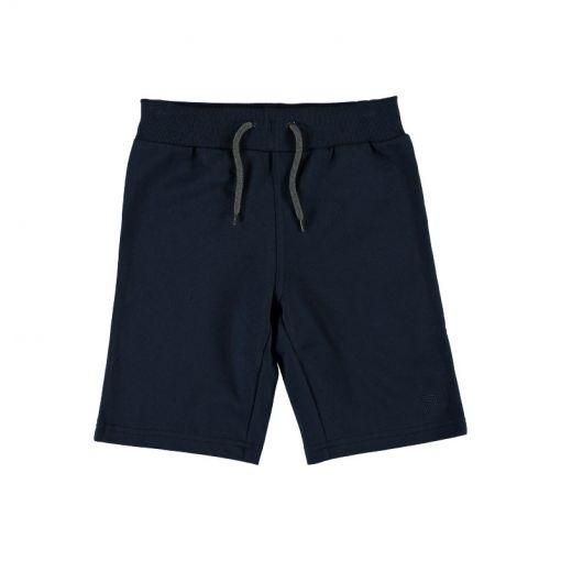 Name It long shorts unbrushed - Blauw