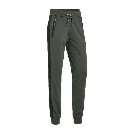 Sjeng Sports dames broek Plynn - Zwart/Groen