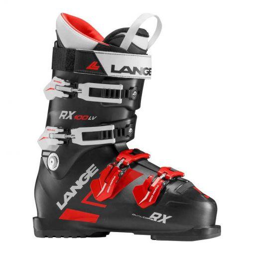 Lange heren skischoen Rx 100 L.V. - Zwart