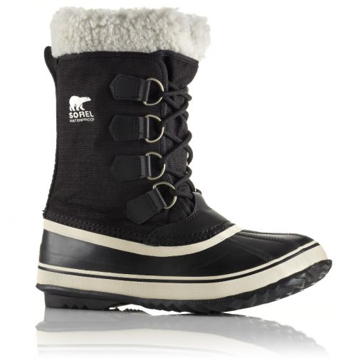 Sorel dames moonboots Winter Carnival - Zwart