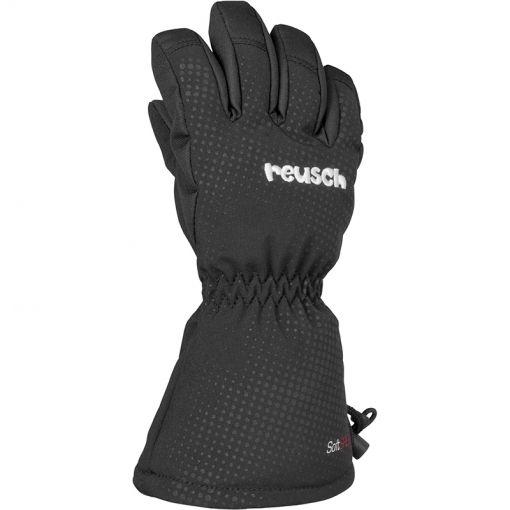 Reusch kinder skihandschoen Maxi - Zwart