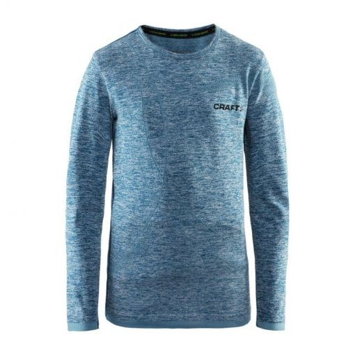 Craft Active Comfort junior thermo shirt - Blauw