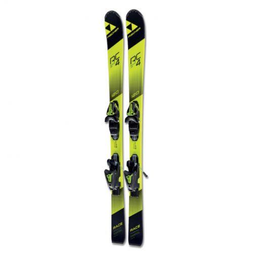 Fischer junior ski's Rc4 - Zwart