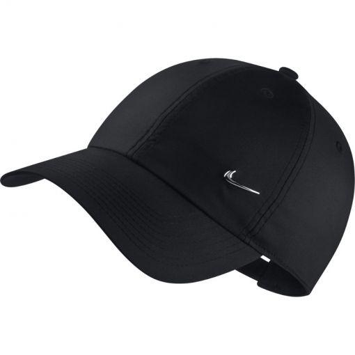 Nike Sportswear Cap Metal Swoosh - Zwart