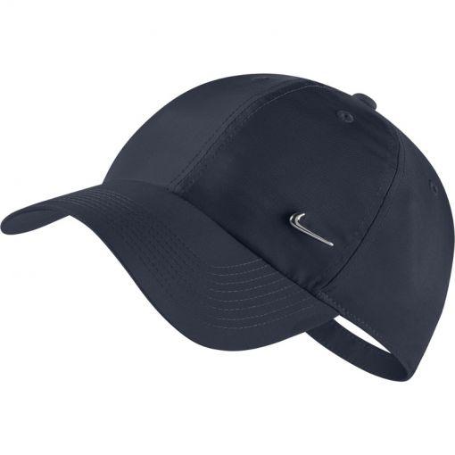 Nike Sportswear Cap Metal Swoosh - Blauw/Grijs