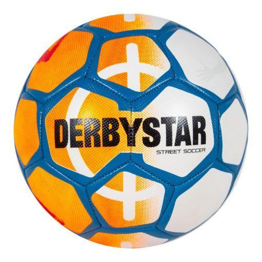 Derbystar voetbal Street Soccer Ball - 3200  white/ orange