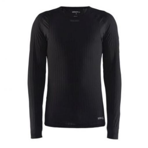Craft here nthermo kleding lange mouw t-shirt - Antraciet