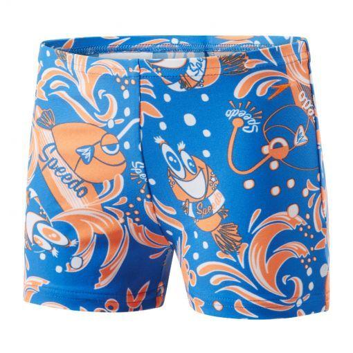 Speedo jongens zwembroek E10 Solarpop - blauw