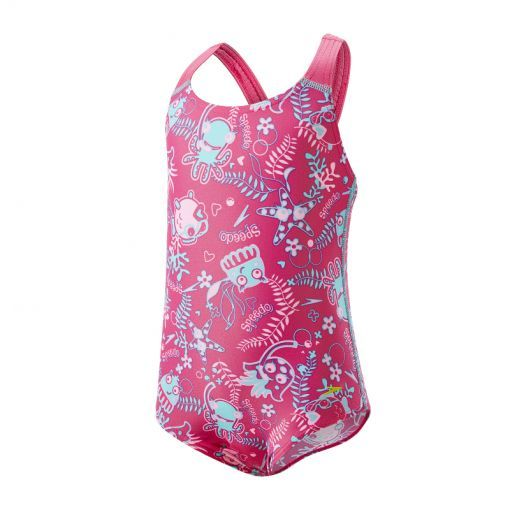 Speedo meisjes badpak Seasquad - roze