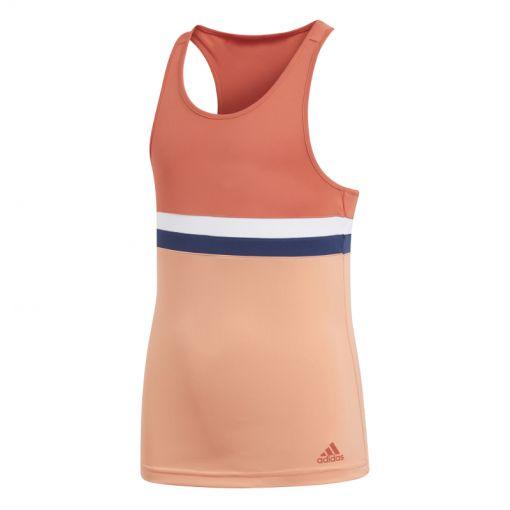 Adidas meisjes tennis singlet Club Tank - rood