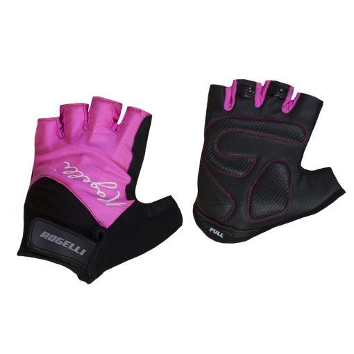 Rogelli dames wielren handschoen Dolce - Zwart