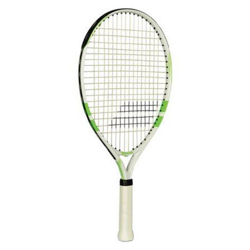 Babolat junior tennis racket Comet - wit / groen