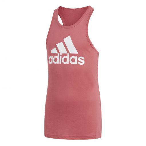 Adidas meisjes fitness top Logo Tank - Roze